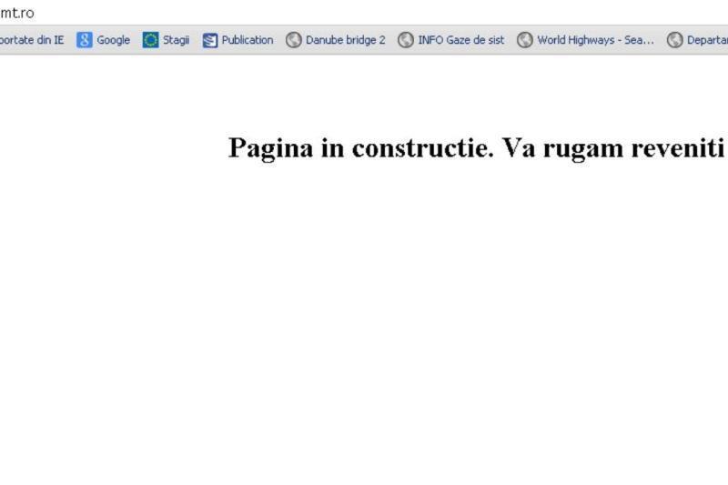 Site-ul Ministerului Transporturilor a fost atacat de hackeri