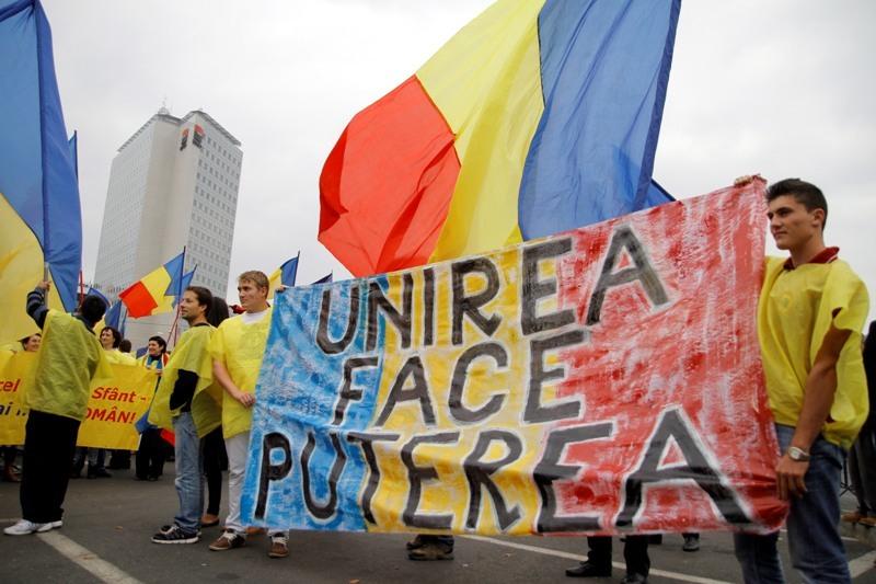Marş în Bucureşti, începând cu ora 14:00, pentru unirea Basarabiei cu România
