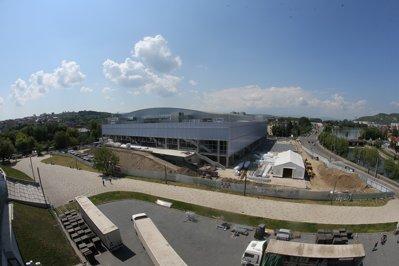 Noua Sală Polivalentă din Cluj-Napoca, finalizată în proporţie de 95 la sută. Când ar trebui să fie inaugurată