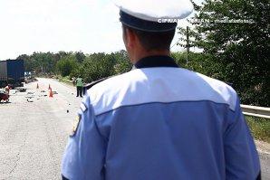 Accident pe autostrada Bucureşti-Piteşti. Patru persoane au fost rănite