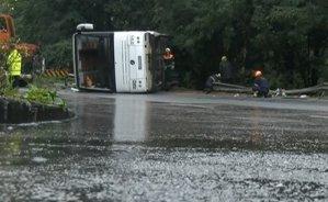 Accident foarte grav în Bulgaria. Un autocar cu români a căzut într-o râpă: BILANŢUL VICTIMELOR
