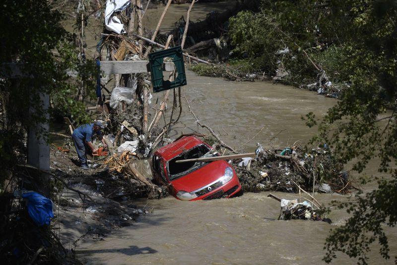 Codul galben de inundatii a fost prelungit �n zece judete