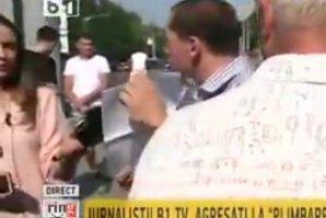 Bărbatul care a agresat o jurnalistă, la ''plimbarea'' Antenei 3, trimis în judecată la două luni după incident