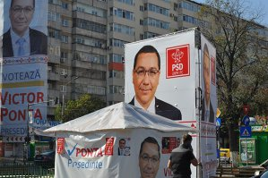 Un nou sondaj arată cu cine votează BUCUREŞTENII la Preşedinţie: primul tur câştigat de Ponta. Ce se întâmplă în turul doi