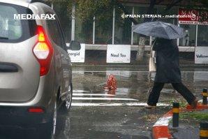 VREMEA. COD GALBEN de ploi în 11 judeţe