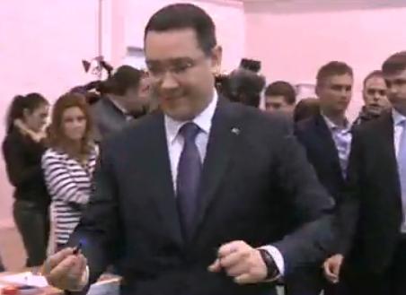 �n judetul Gorj, Victor Ponta a c�stigat alegerile cu 58,29%