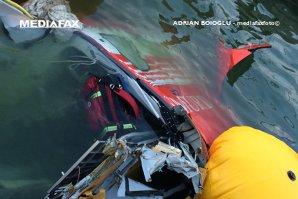 Drona care a filmat elicopterul SMURD prăbuşit în lacul Siutghiol, găsită de anchetatori