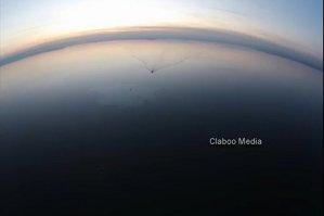 Imaginile de la locul accidentului de elicopter, filmate de o dronă deasupra lacului Siutghiol