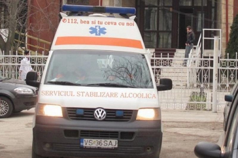 Un autobuz cu 15 pasageri s-a rasturnat �n judetul Brasov