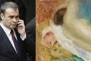 Câţi bani ar fi dat Darius Vâlcov pe tablouri şi câţi menţionase că are în declaraţia de avere
