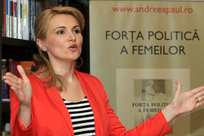 """Andreea Paul: """"Ministrul Teodorovici s-a hotărât să bărbierească bacşişul cu lingura de lemn"""""""