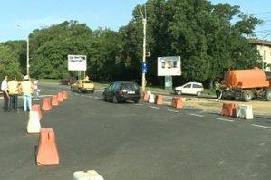 Reacţia Metrorex, după ce asfaltul s-a umflat la Academia Militară, din cauza lucrărilor la o nouă magistrală
