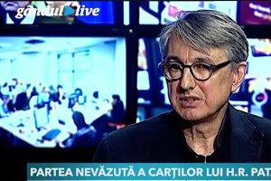 H. R. Patapievici, la Gândul Live: Cărţile bine vândute în România aparţin mai degrabă unor oameni care au statut de vedetă