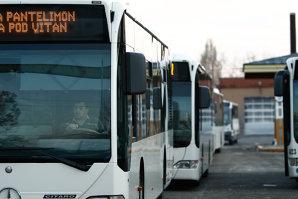 RATB: Călătorii vor fi informaţi, luni, că este posibilă suspendarea transportului în comun