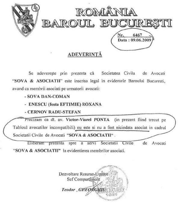 Necunoasterea limbii romane ca proba juridica Ponta-avocat