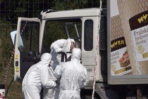 Cei patru bărbaţi reţinuţi în cazul camionului cu 71 de cadavre compar în faţa justiţiei ungare