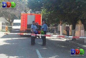 Un pompier a murit lovit la cap de fragmentele provocate de explozia unei butelii