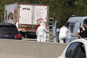 Cei patru suspecţi în cazul camionului cu 71 de cadavre, arestaţi preventiv pentru 30 de zile