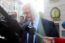 Virgil Măgureanu şi-a pierdut cumpătul la ieşirea de la ICCJ, unde a fost audiat în dosarul Mineriadei: ''E o întrebare NEROADĂ''