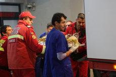 Doi spanioli, un italian şi un german, printre răniţii din incendiul din Colectiv