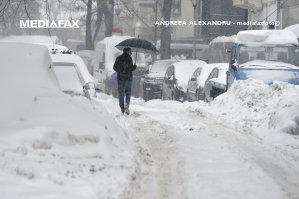 ANM anunţă un nou COD GALBEN de ninsori în 28 de judeţe, valabil de joi dimineaţă. Vezi HARTA cu judeţele vizate