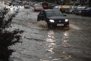 46 de localităţi au fost afectate de precipitaţii în ultimele 24 de ore