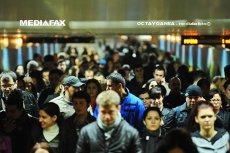 În ''oraşul corporatiştilor'', zeci de mii de angajaţi se sufocă zilnic să ajungă la muncă: ''Între 8 şi 8.30 las trei metrouri să treacă din cauza aglomeraţiei''