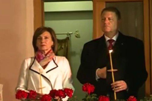Moment penibil la Înviere: un bărbat i-a cerut demisia lui Iohannis