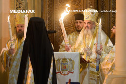 Moment HALUCNANT la Patriarhie. Ce s-a întâmplat la câteva secunde după ce Patriarhul a ieşit din altar. VIDEO