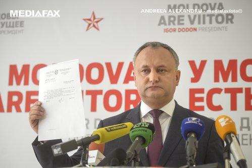 Preşedintele Republicii Moldova, reacţie dură la adresa lui Iohannis: ''Încă nu a răspuns''