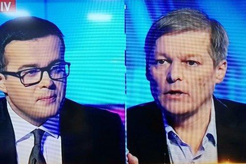 """Ultimul meci de campanie: Cioloş-Antena 3. """"Suntem ca la Radio Erevan"""""""