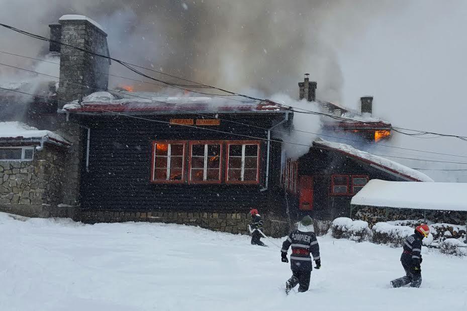 Incendiu la un Centru pentru copii cu deficienţe din Braşov