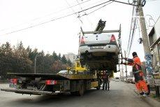 Firea: Toate maşinile care blochează transportul în comun sau căile de acces vor fi ridicate