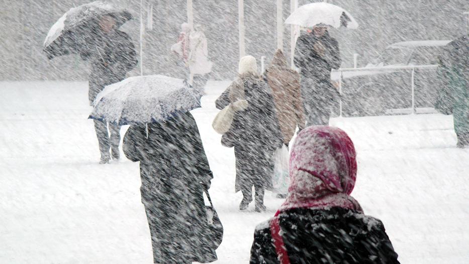 Cod galben de ninsori şi viscol în Bucureşti şi nouă judeţe