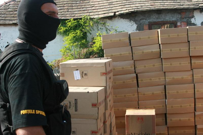 12 milioane de ţigarete, confiscate de poliţişti doar în primele două luni ale anului