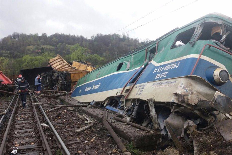 Mecanicii trenului care a sărit de pe şine în Hunedoara băuseră alcool