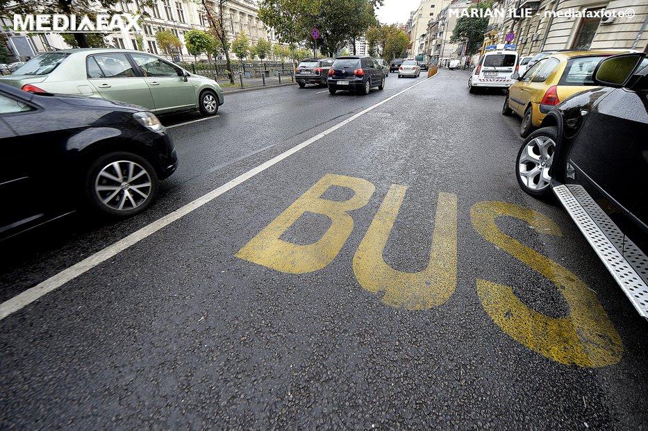 Când vor fi amenajate noi benzi unice pentru RATB în Bucureşti