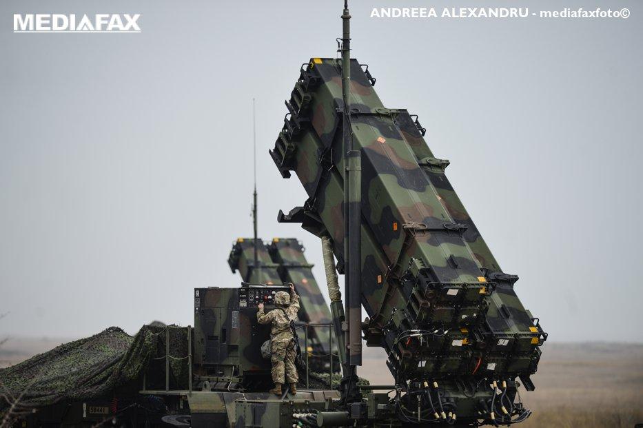 România vrea să cumpere sistemul de rachete Patriot de la guvernul SUA