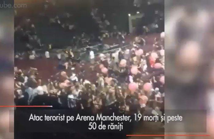 Atac terorist pe Arena Manchester. Ştirile momentului