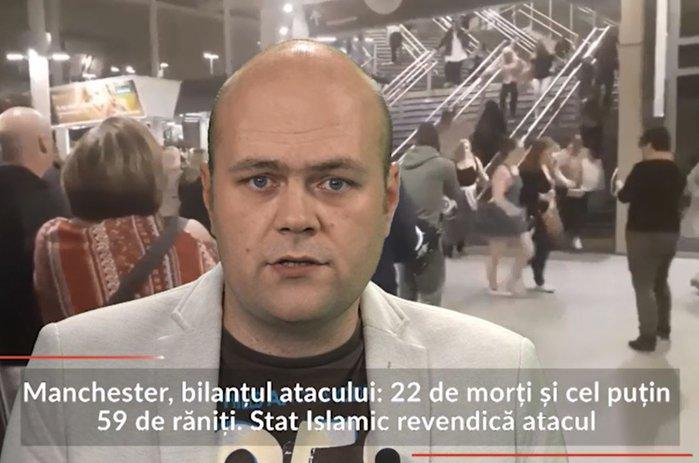 Manchester, bilanţul atacului: 22 morţi şi 59 răniţi. Stat Islamic revendică atacul. ŞTIRILE DUPĂ AMIEZII