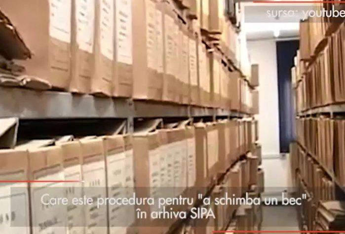 """Care este procedura pentru """"a schimba un bec"""" în arhiva SIPA"""