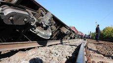 Un tren a rămas fără frâne în Argeş