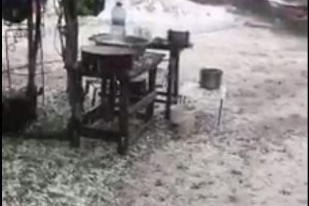 Grindina a făcut prăpăd în Olt. 900 de hectare de culturi agricole, afectate