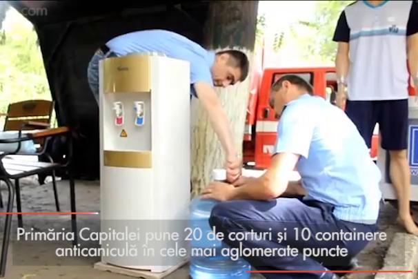 Măsuri anti-caniculă în Bucureşti