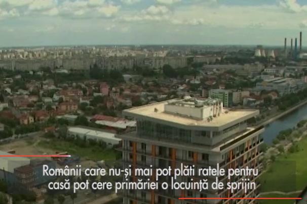 Locuinţe de sprijin pentru românii executaţi de bănci
