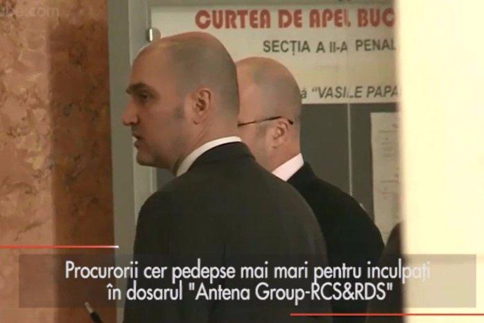 """Procurorii cer mărirea pedepselor în dosarul """"Antena Group - RCS&RDS"""""""