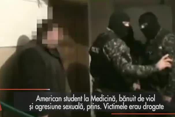 American, student la Medicină, bănuit de viol şi agresiune sexuală, prins. Victimele erau drogate