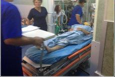 Momente tragice pentru o femeie însărcinată din Argeş: a căzut de la etajul trei încercând să iasă din casa unde a fost sechestrată de iubit