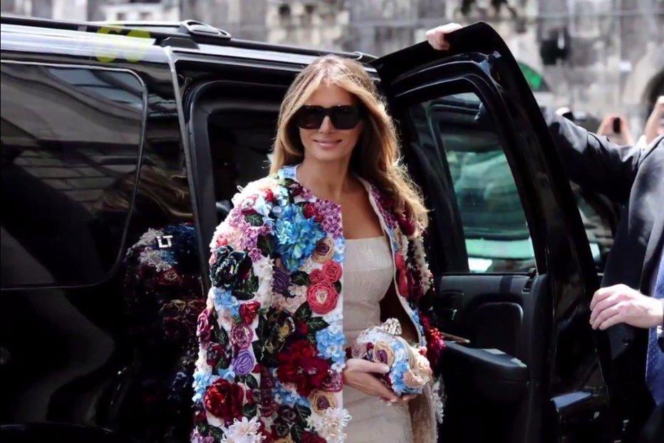 Melania Trump nu a putut ajunge la un eveniment al Summitului G20, din cauza protestelor