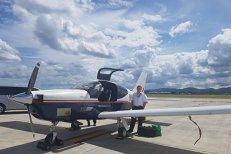 Zbor în premieră din Australia în România cu un avion monomotor. Ce spune pilotul care a parcurs 18.000 de kilometri în 14 zile